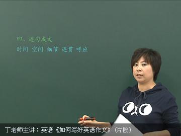 初中英语作文专项突破课