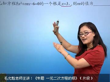 初三數學同步基礎課程(青島版)